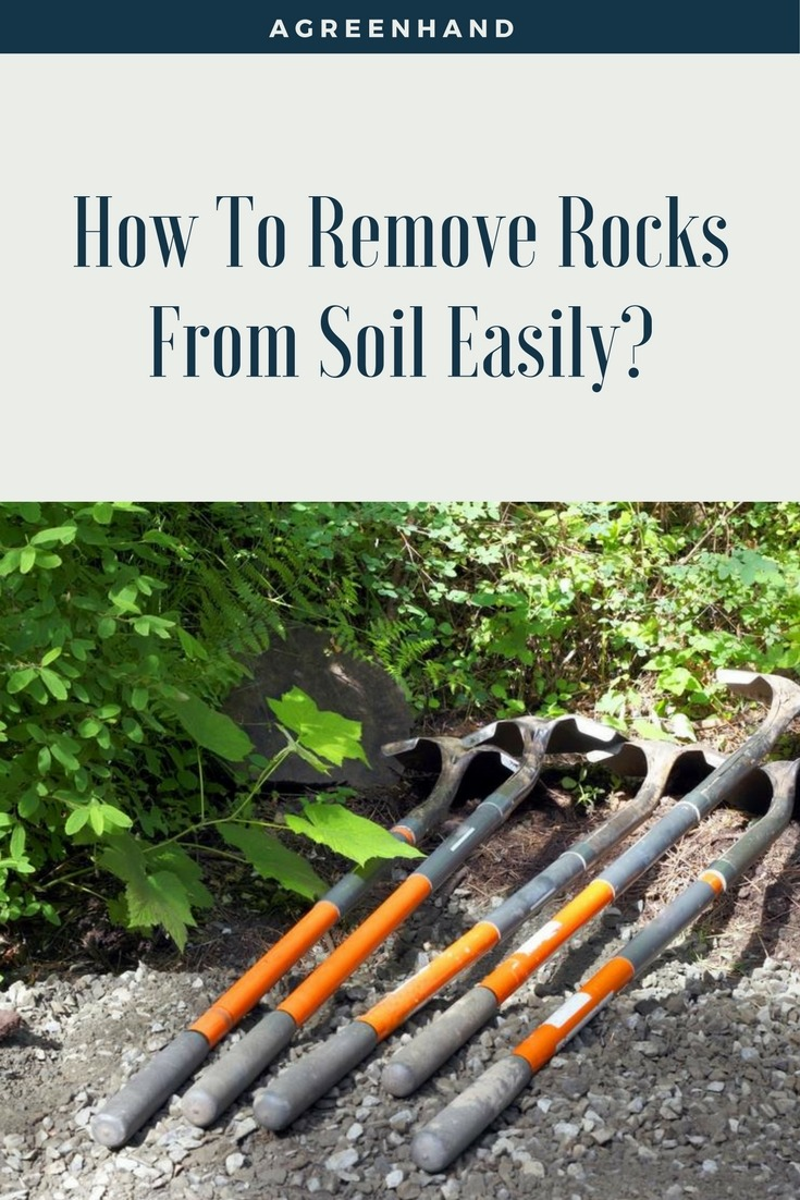 best way to remove rocks from soil