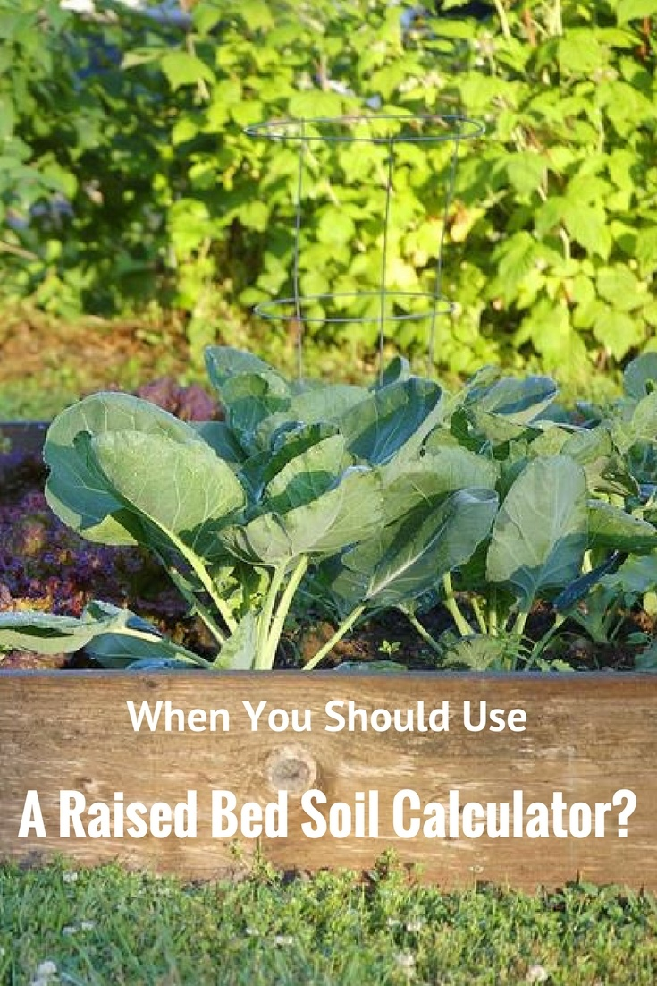 Although what you intend to plant will dictate the right soil amount there is always the minimum amount that you should use for any raised bed. And to determine what this is it is always a good idea to use a raised bed soil calculator.