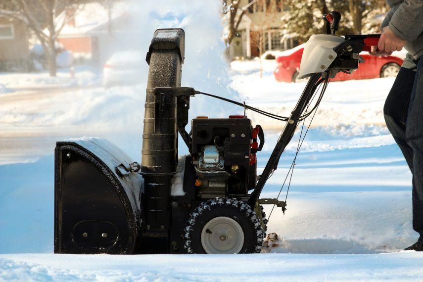 snowblower oil change