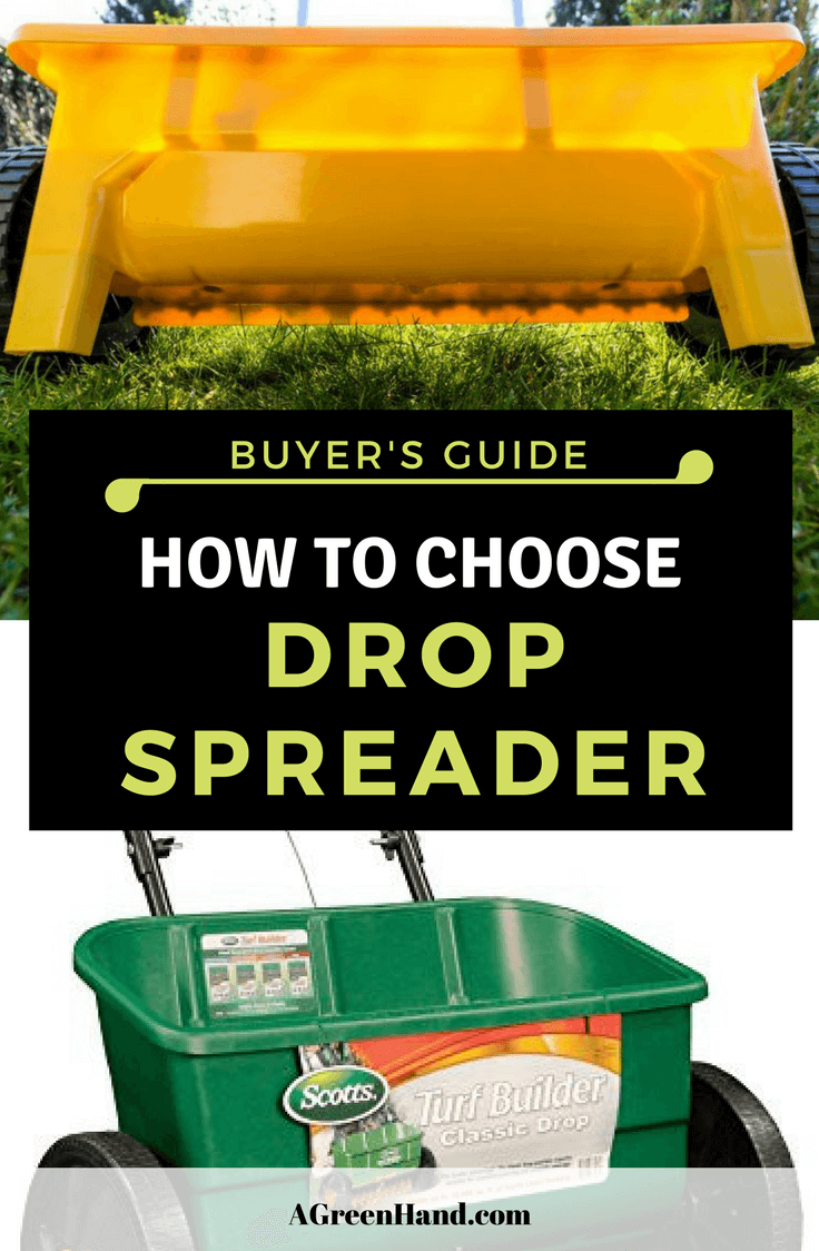 Best Drop Spreader On The Market 2018. Whether you are going to plant new seedlings or apply granular lawn care products, a drop spreader can always do the trick. With this piece of equipment, you wouldn't have to worry about having an unequal distribution of fertilizer or seeds. #gardening #dropspreader #fertlizer #lawncare