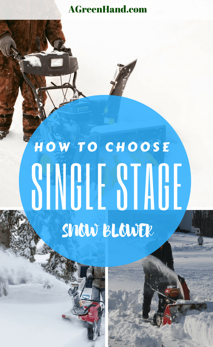 A single stage snow blower is meant for relatively light snow cleanups. These include clearing standard-sized sidewalks, driveways, and walkways if the snowfall is moderate at most. In particular, this snow blower works best if there's eight inches or less of snow. #wintergardening #snowblower #singlestagesnowblower #driveway #snowremoval