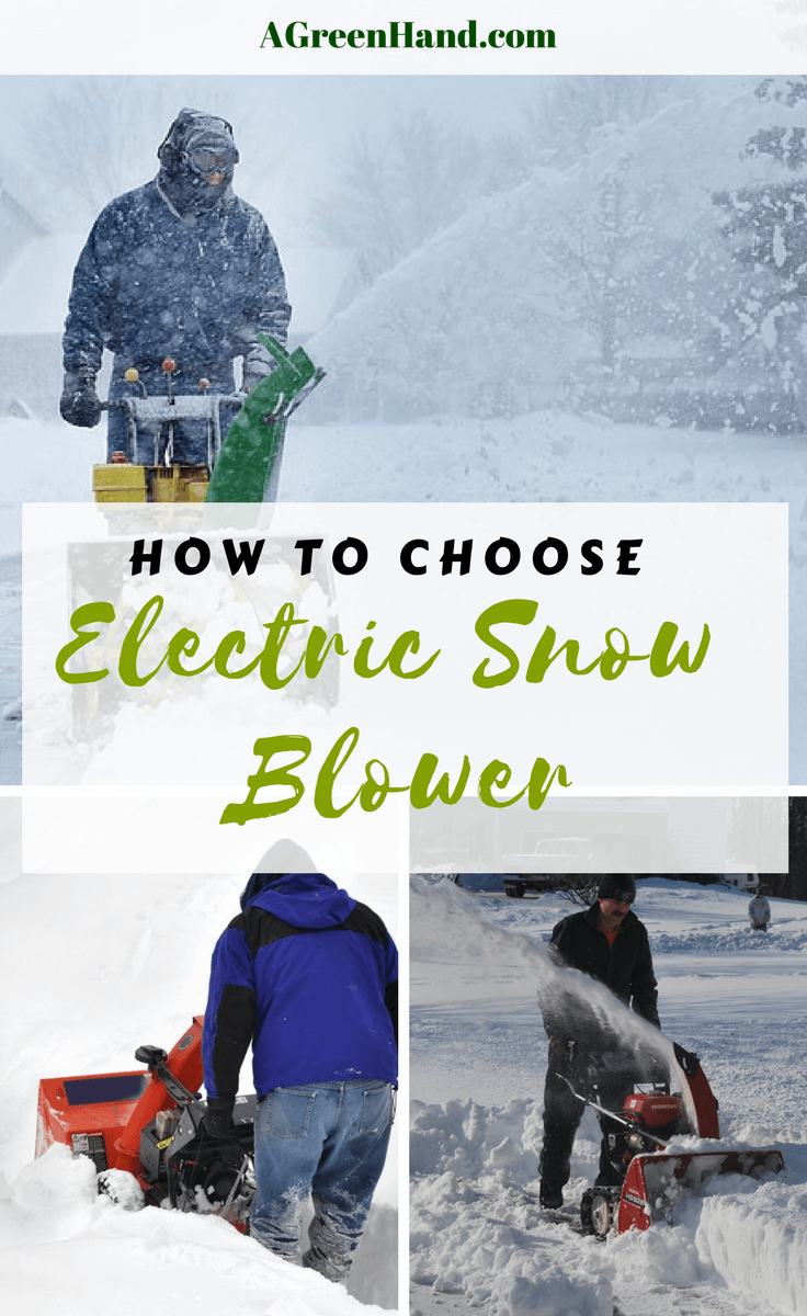 As the winter season approaches, you need to be prepared for heavy snowfall covering your property. From your lawn to your walkways and driveways, you will need a big guy to economically get rid of snow.  #snowblower #electricsnowblower #driveway #snowremoval #agreenhand #agh