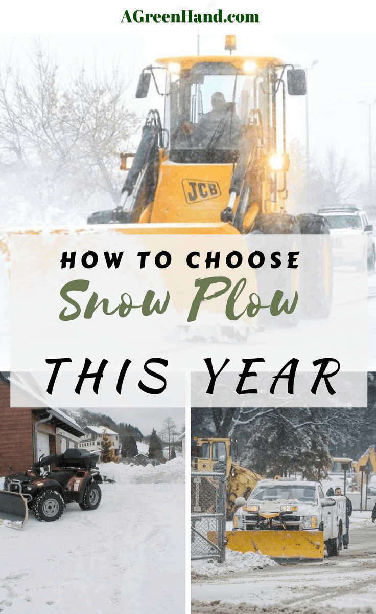 Choose the best snow plow can be a daunting task. So, don't hesitate to grab this chance, crave for the information below and save yourself tons of time. #snowplow #snowblower #driveway #snowremoval #agreenhand #agh