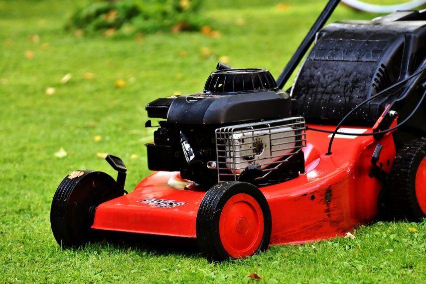 lawn mower starts then dies