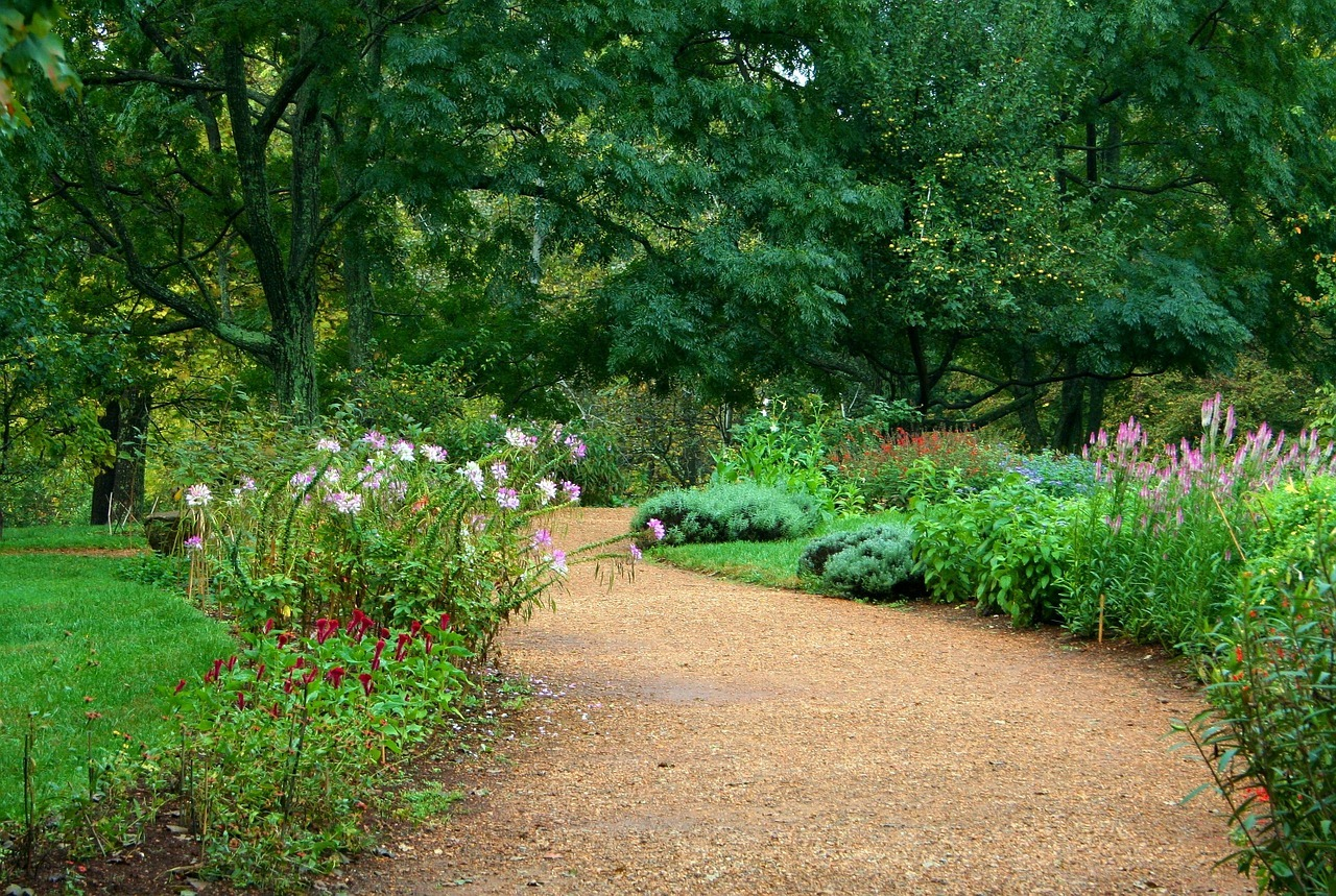 Garden Path Ideas: Gravel Path