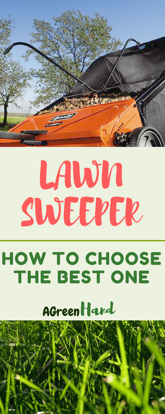 How To Choose The Best Lawn Sweeper #lawncare #lawnsweeper #gardeningtips #agreenhand