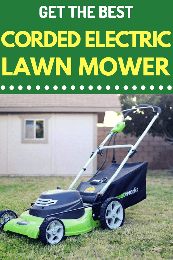 While a gas-powered lawn mower will often reign in terms of sheer mowing power, it's not always the practical choice. For some lawn owners, they are better off using a lawn mower that produces less noise and is more environmentally friendly. In this case, we should look for the best corded electric lawn mower.