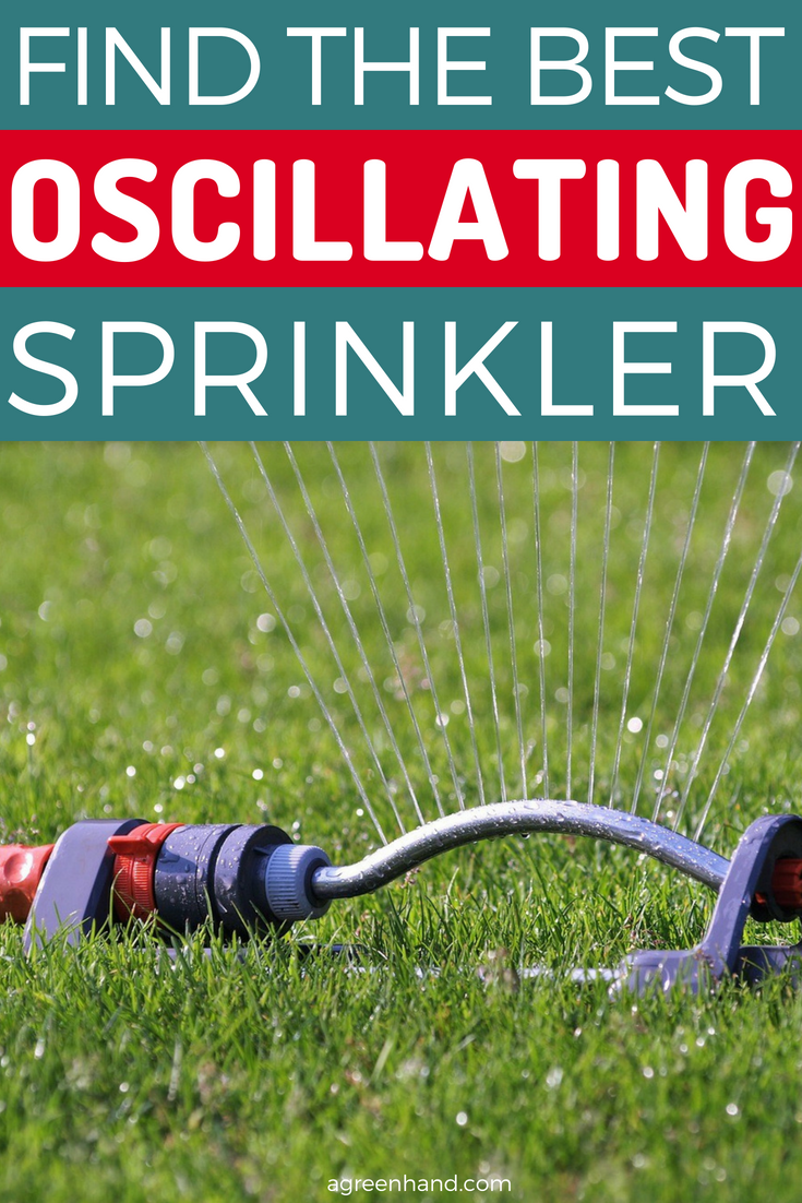 Want to save time, energy but still maintain a healthy, green and beautiful looking garden? Get yourself a sprinkler! An oscillating sprinkler is very popular among gardeners. The best oscillating sprinkler sprays water in a fan-shaped curtain.