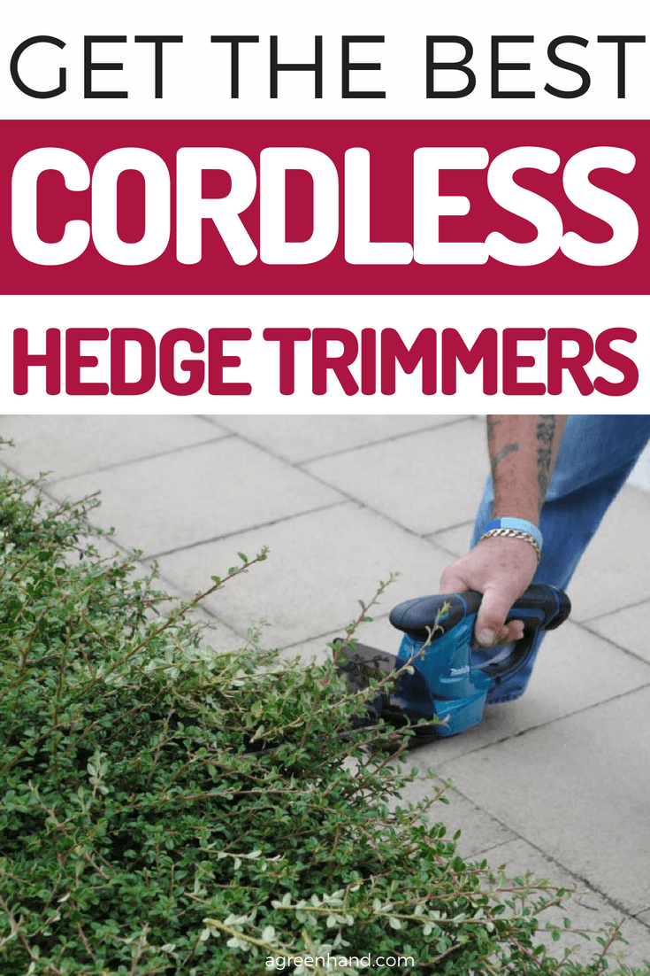 Think about the beautifully manicured lawn, if you can't resist the temptation, let me help you with the best cordless hedge trimmer.