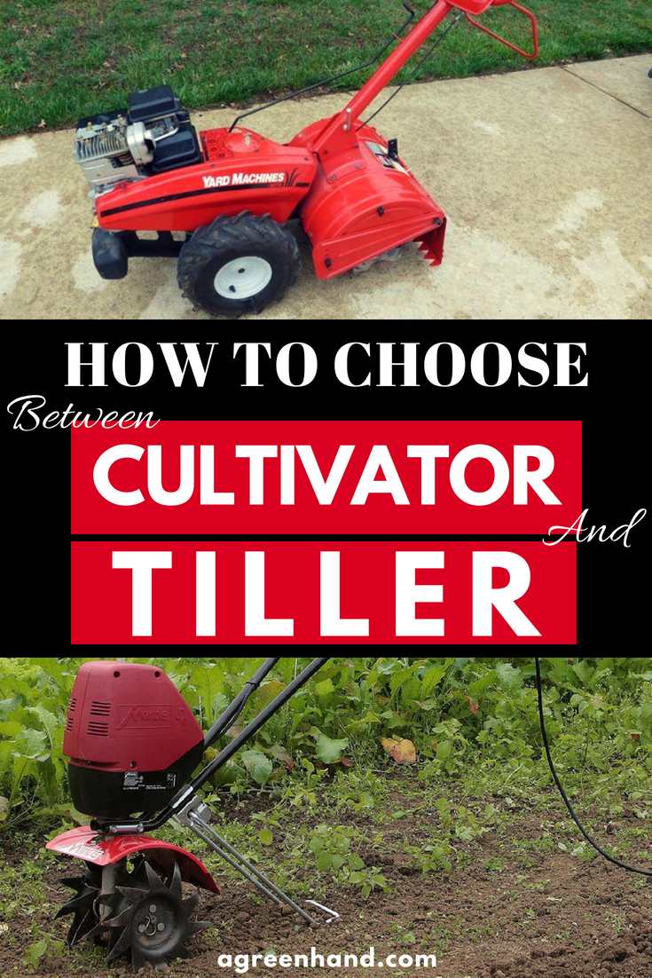 So you want to till your land but you can't decide whether you should till with a tiller or a cultivator. When it comes to the cultivator versus tiller debate, which one is better for your needs?