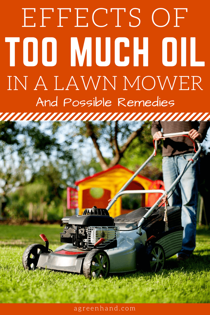 ​Too much oil in the crankcase can damage the motor of the lawn mower. Too much oil can also cause the lawn mower to leak which can damage other parts of the lawn mower other than its motor.