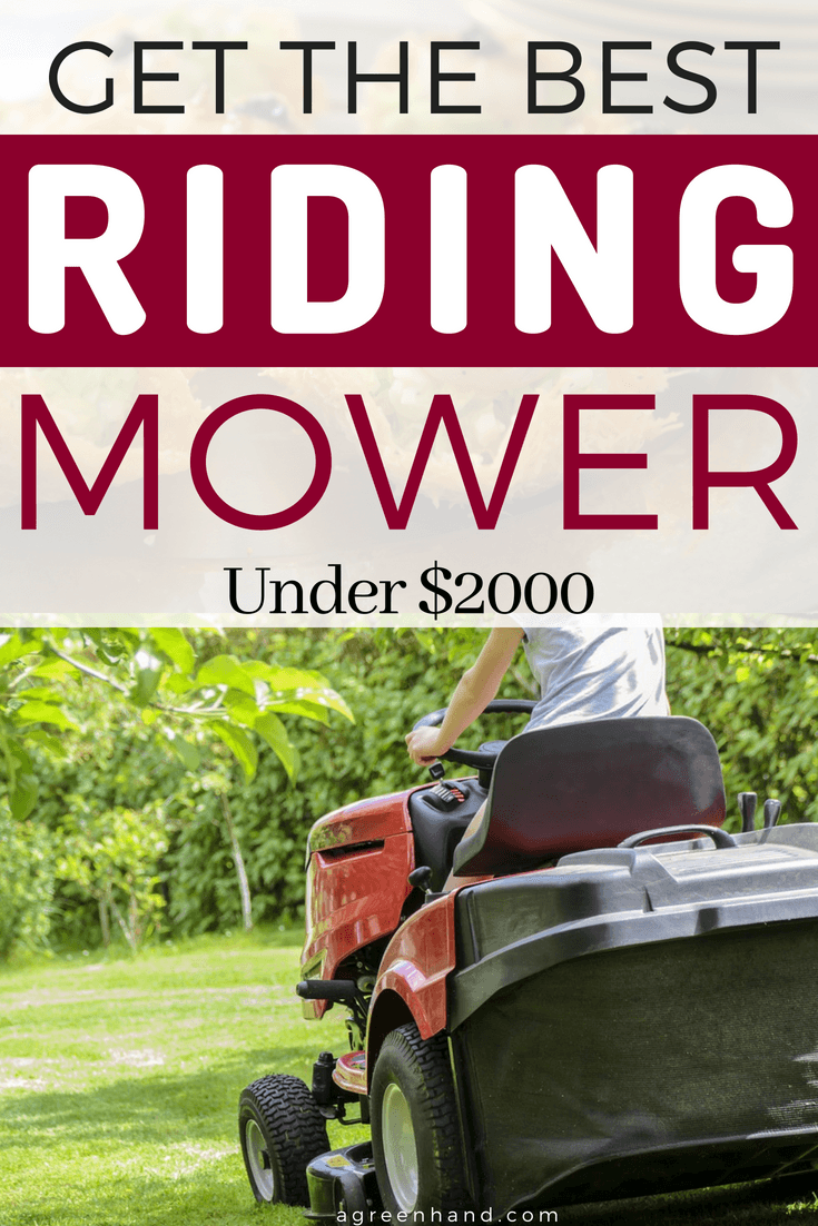 In fact, a riding mower can be considered an investment for the sole purpose of lawn maintenance. Luckily for you, we know the best riding mowers under $2000 that should provide you the best bang for your buck.