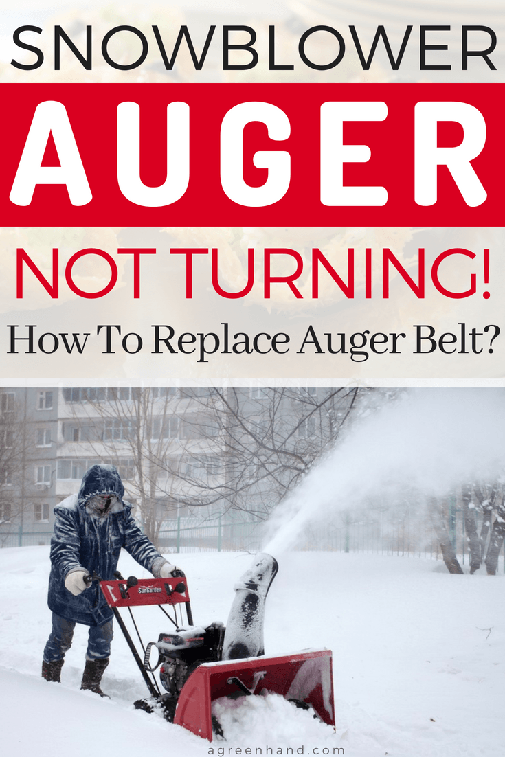 Is your snowblower auger not turning? Keep calm! Every users has at least been in this situation once! And it definitely gets into my nerves when I wear multiple layers of clothes, go out in the freezing cold weather and the snowblower auger just won't turn.