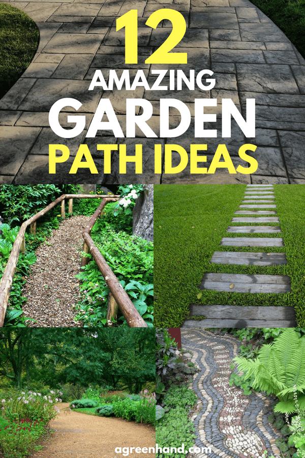 12 Amazing Garden Path Ideas