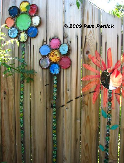 DIY Garden Fence Wall Ideas