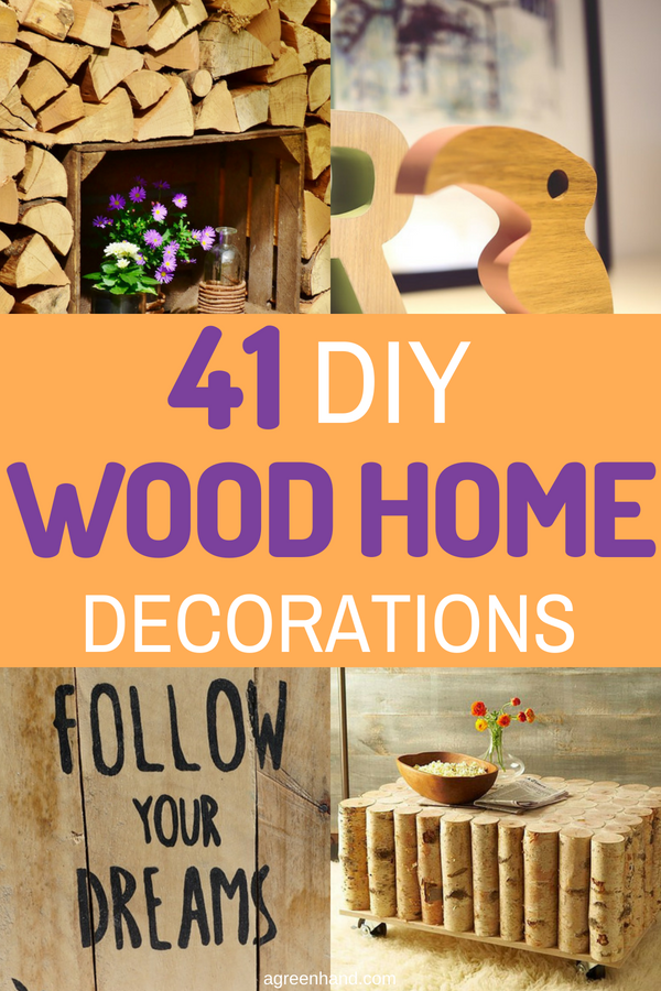 DIY Wood Home Decorations