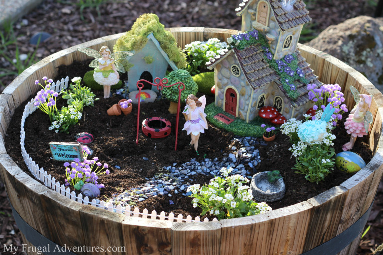 Outdoor Fairy Garden. Fairy Garden Ideas