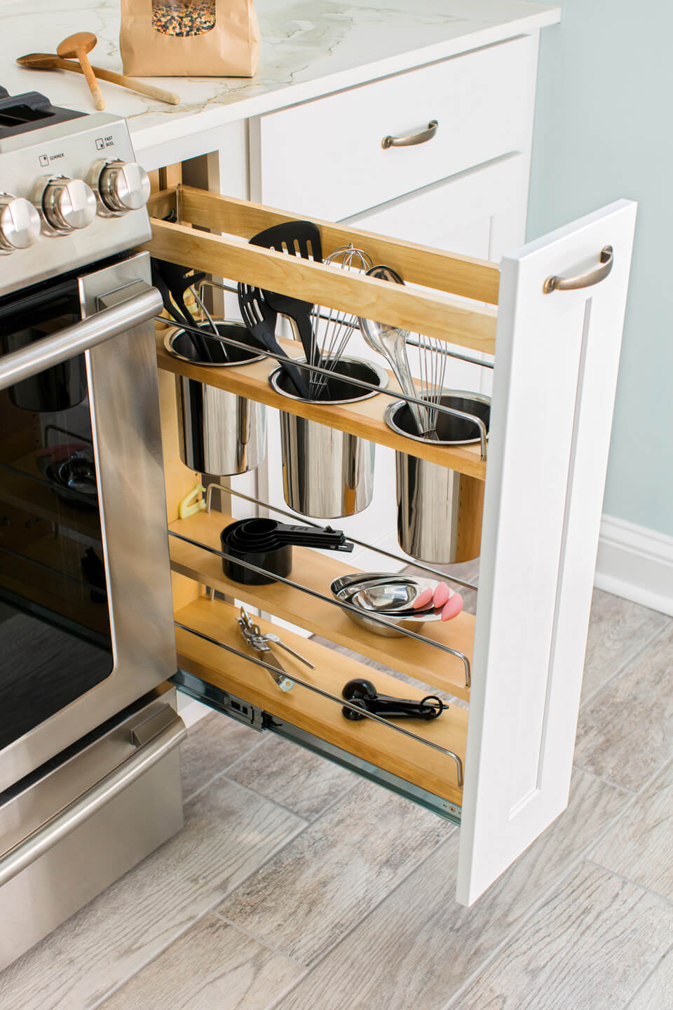 35 smart diy kitchen storage ideas - a green hand