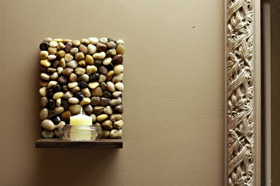 Home Decor Ideas With River Rocks