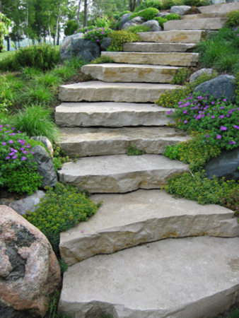 Stair Ideas In The Garden