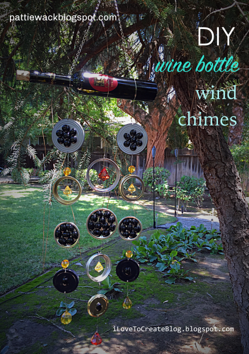 Wine Bottle Ideas For The Garden