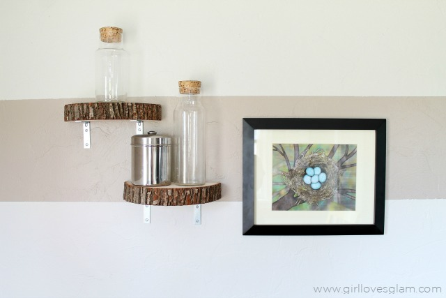 Home Accessories Using Wood Logs