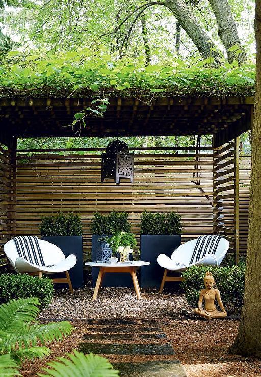 Zen Garden Pergola