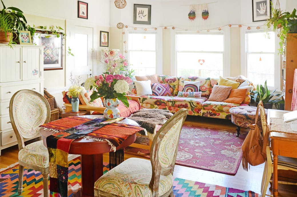 Bohemian Chic Interior Design Ideas