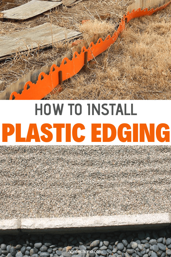 How To Install Plastic Edging