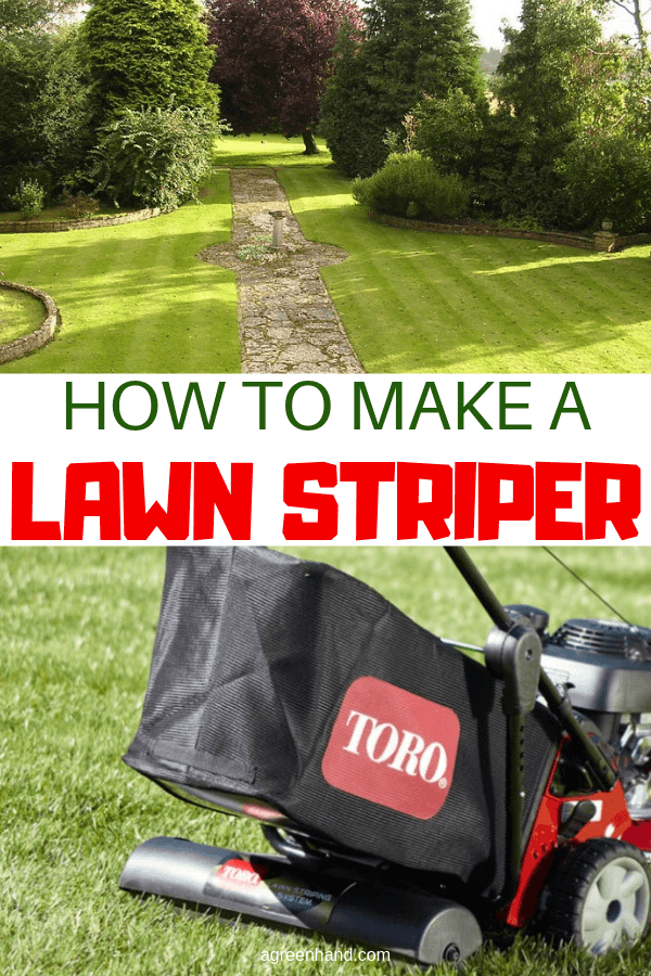 How To Make A Lawn Striper