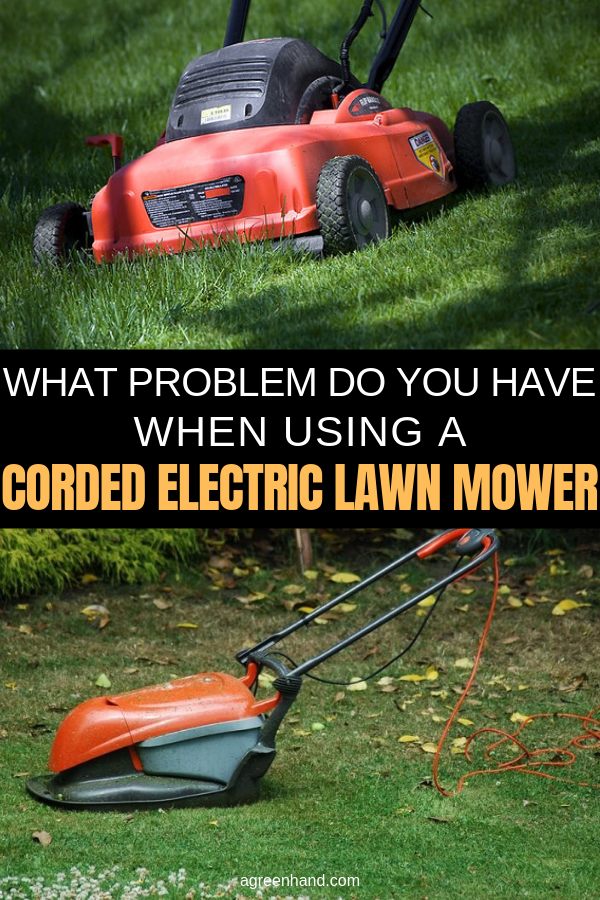 "I chose to get an electric lawnmower because of the advantages I was told it offered. I love the features and endless power it can bring, but of course, even the best products have their downfalls. You're probably asking me, ""what problem of you have when using a corded electric lawn mower?"" #agreenhand #corded #electric #lawnmower #lawnequipment #lawntools"
