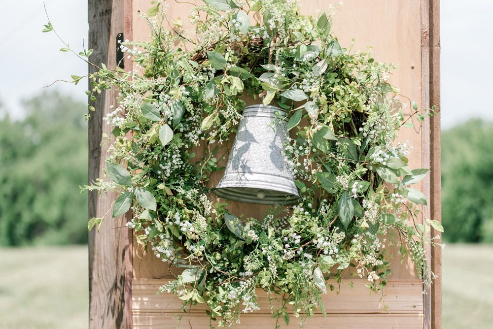 Garden Wreath Decoration